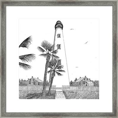 Ponce Inlet Lighthouse Framed Print by Tim Murray