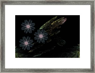 Pond Framed Print by Ricky Kendall