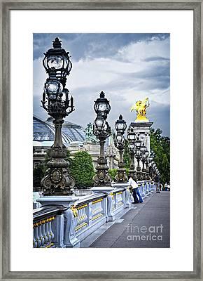 Pont Alexander IIi In Paris Framed Print by Elena Elisseeva