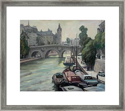 Pont Neuf A Paris Framed Print by Thor Wickstrom