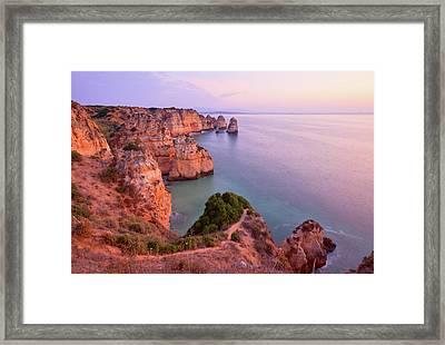 Ponta Da Piedade Sunrise Framed Print