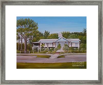 Pontchartrain Yacht Club Framed Print