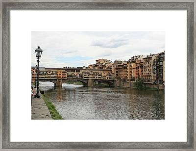 Ponte  Vecchio Florence Framed Print