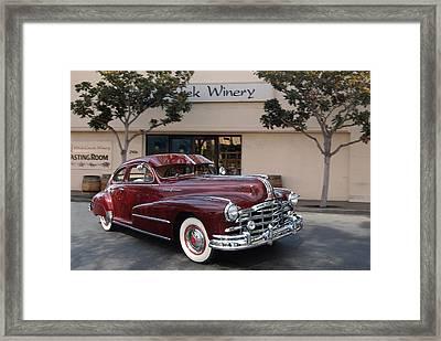 Pontiac Silver Streak Framed Print by Bill Dutting