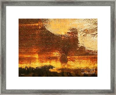 Poodle Framed Print by Eena Bo