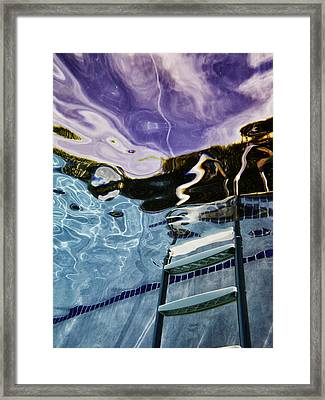 Pool #9 Framed Print by Mauricio Jimenez