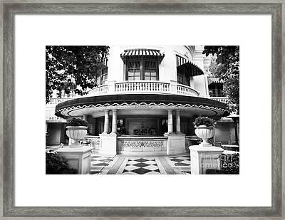 Pool Bar In Vegas Framed Print by John Rizzuto