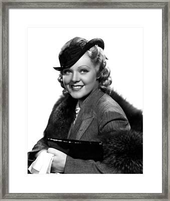 Poor Little Rich Girl, Alice Faye, 1936 Framed Print by Everett