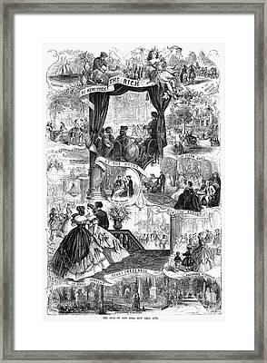 Poor New York, 1865 Framed Print by Granger