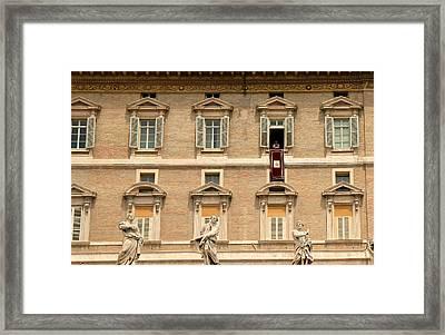 Pope Benedict Xvi C Framed Print