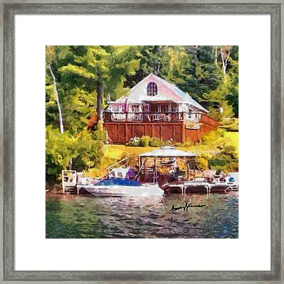 Poppas Camp Framed Print by Anthony Caruso