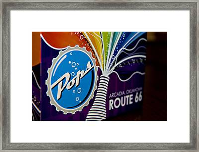 Pops II  Framed Print by Malania Hammer