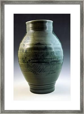 Porcelain Base Framed Print by Alejandro Sanchez