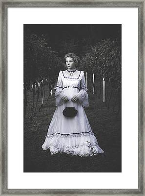 Porcelain Doll Framed Print