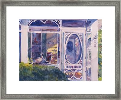 Porch Light Framed Print