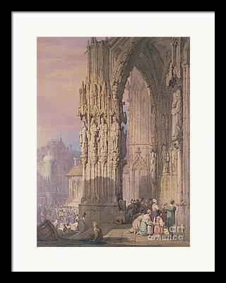 Regensburg Framed Prints