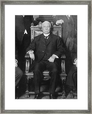 Porfirio D�az 1830-1915, President Framed Print by Everett