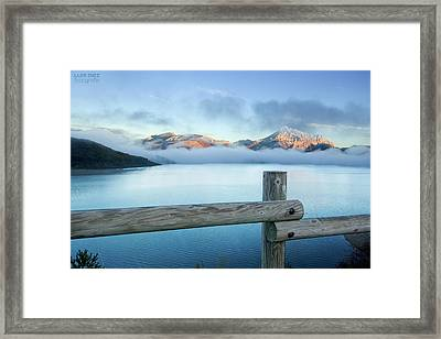 Porma Reservoir Framed Print by Lmdm43