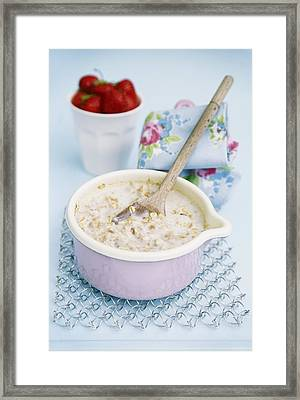 Porridge In A Pan Framed Print by Veronique Leplat