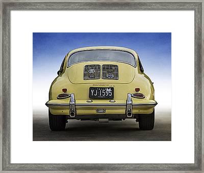 Porsche 356 Framed Print by Douglas Pittman