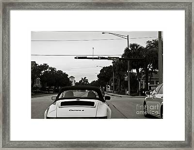 Porsche 911 Carrera 2 Framed Print by Andrew  Cragin