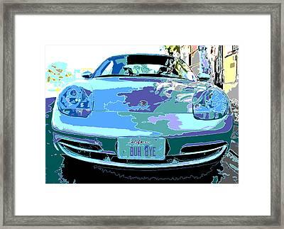 Porsche Carrera Front Study Framed Print by Samuel Sheats