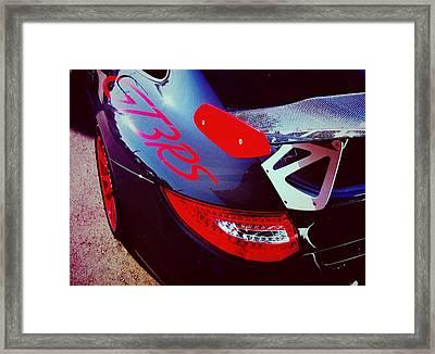 Porsche Gt3 Rs Back Corner Framed Print