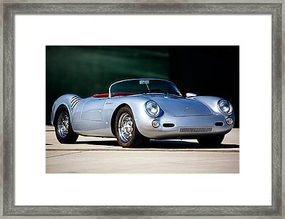 Porsche Spyder Framed Print by Peter Tellone
