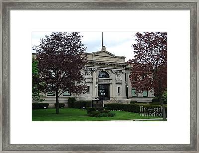 Port Huron Museum Framed Print by Grace Grogan
