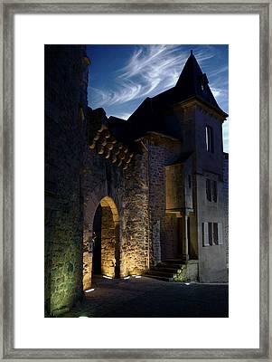 Framed Print featuring the photograph Port Margot by Rod Jones