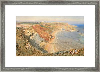 Port Mulgrave Framed Print by HB Richardson