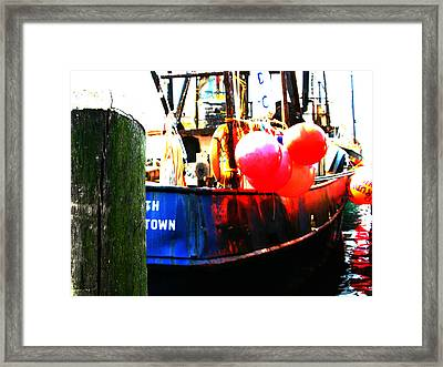 Framed Print featuring the photograph Port Of Galilee Number 1 by Lon Casler Bixby