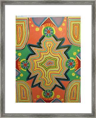 Portal Framed Print by Forrest Kelley