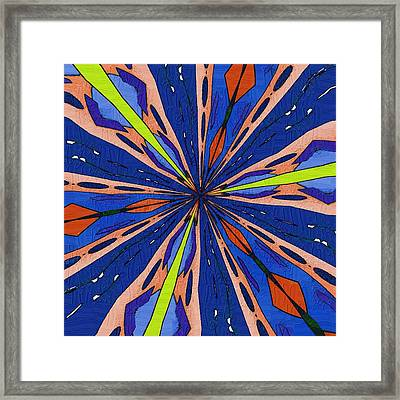 Portal To The Past Framed Print by Alec Drake
