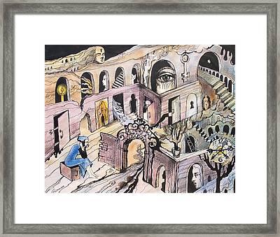 Portals Framed Print by Valentina Plishchina