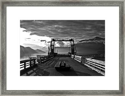 Porteau Cove  Framed Print