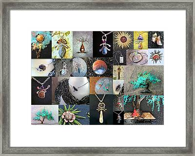 Portfolio Collage 2012 Framed Print by Vanessa Williams