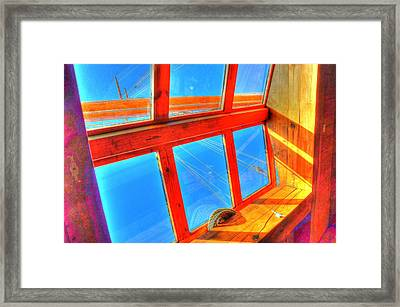 Portholes Framed Print by Barry R Jones Jr