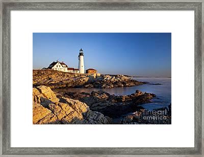 Portland Head Lighthouse Framed Print by Brian Jannsen