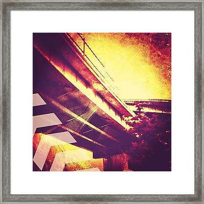 Portland #iphoneonly #iphone Framed Print by Johnathan Dahl