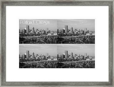 Portland  Oregon Framed Print by Cathie Tyler