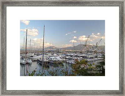 Framed Print featuring the photograph Porto Arenella by Kathleen Pio