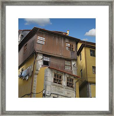 Porto By Day Framed Print by Arlene Carmel