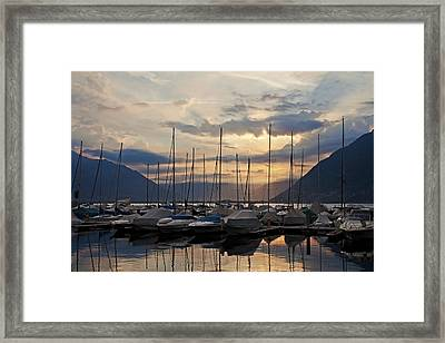 Porto Patriziale Ascona Framed Print by Joana Kruse