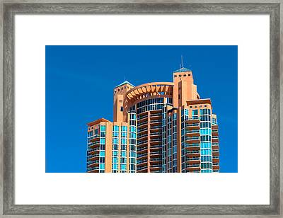 Portofino Tower At Miami Beach Framed Print