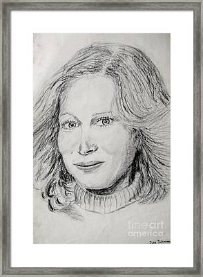 Portrait 1  Framed Print