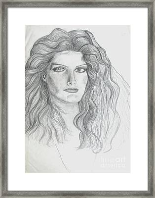 Portrait 3 Framed Print
