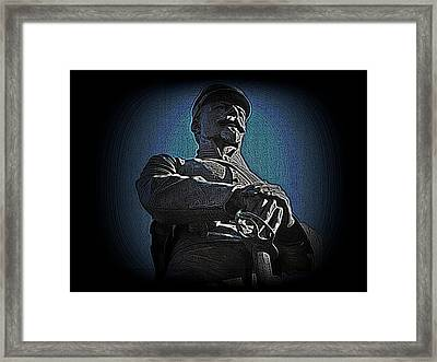 Portrait 36 American Civil War Framed Print