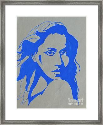 Portrait 4 Version 2 Framed Print