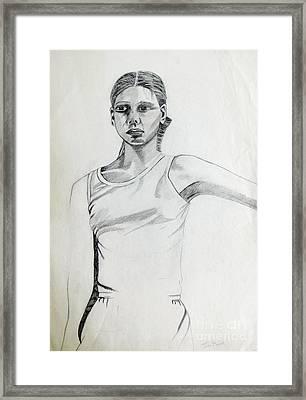 Portrait 6 Framed Print